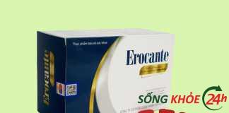 Viên uống hỗ trợ mọc tóc Erocante