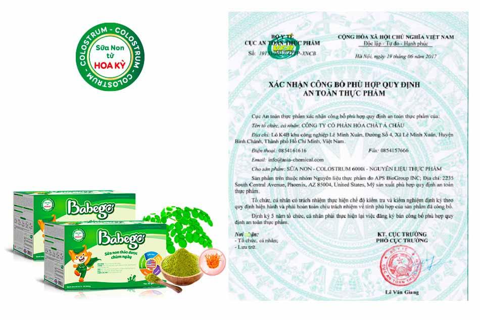 Sữa non thảo dược Babego ;à kết quả của quá trình nghiên cứu chuyên sâu của các chuyên gia dinh dưỡng hàng đầu với nguồn nguyên liệu chất lượng