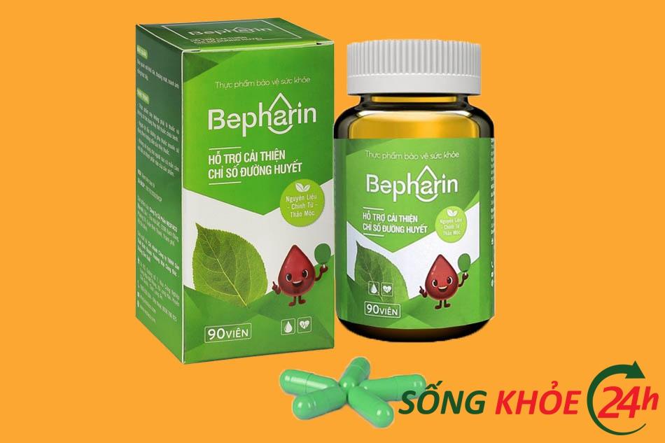 Thông tin về viên uống Bepharin