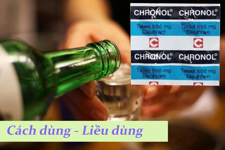 Cách dùng - liều dùng chronol