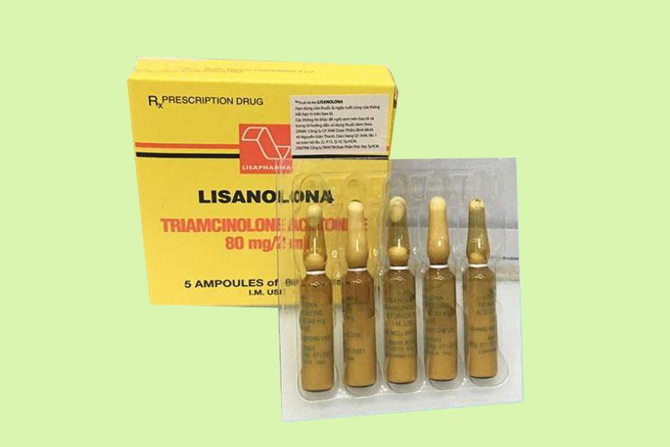 Lisanolona là thuốc gì?