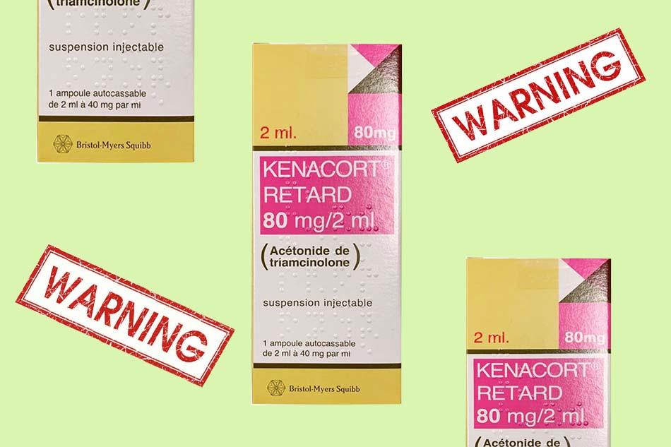 Kenacort Retard không sử dụng trong trường hợp nào?