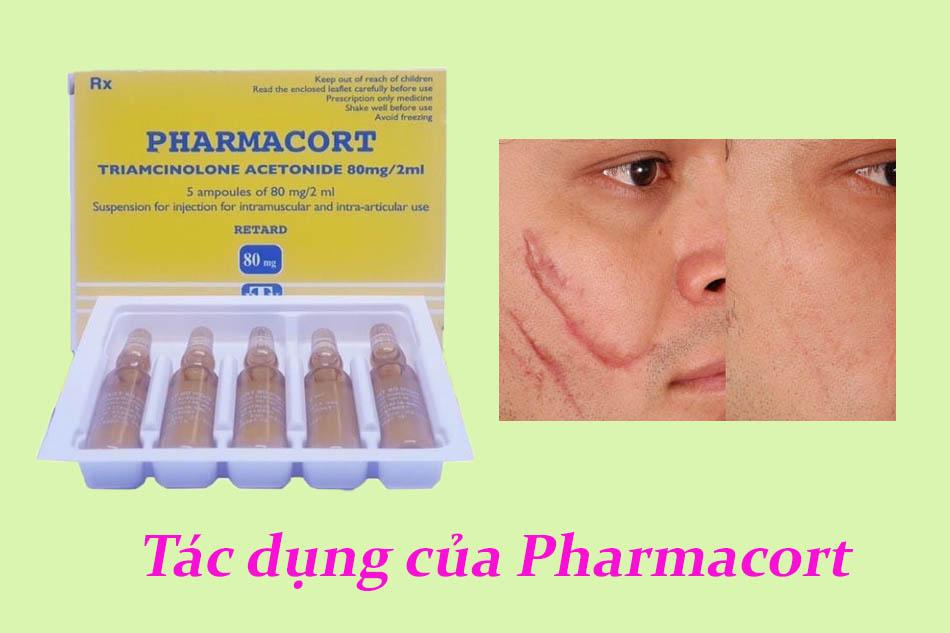 Tác dụng của thuốc pharmacort 80mg/2ml