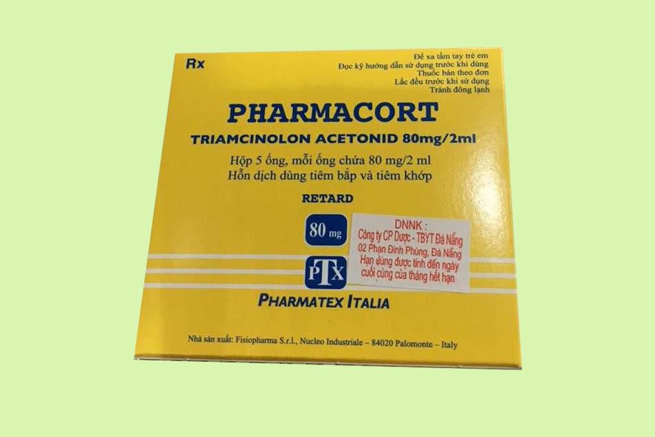 Pharmacort 80mg là thuốc gì?