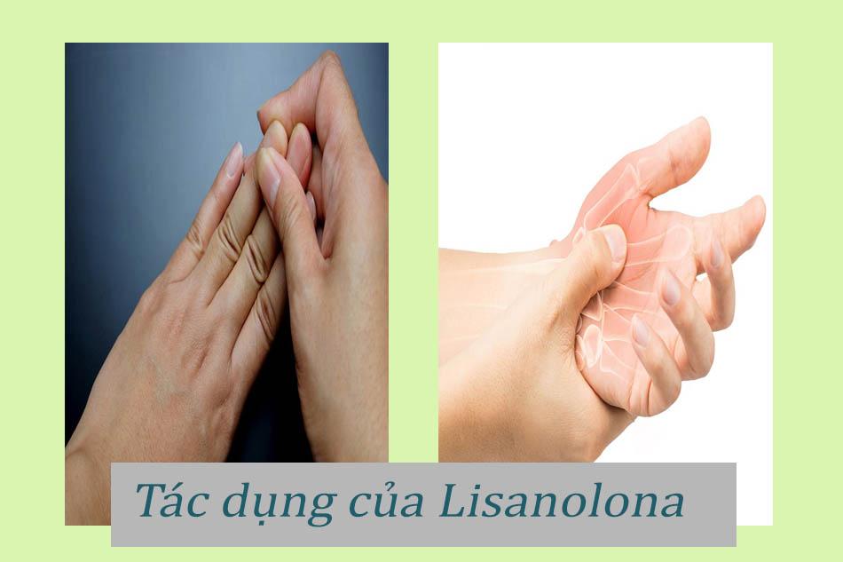 Tác dụng của thuốc Lisanolona