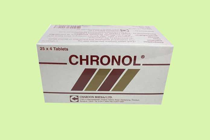 Thuốc giải rượu Chronol