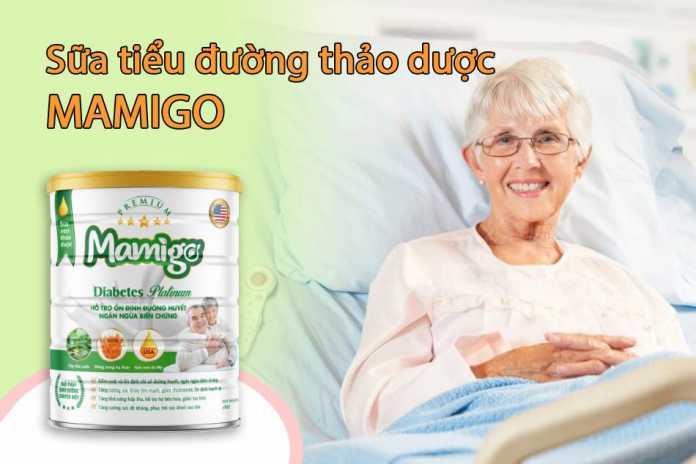 Sữa tiểu đường thảo dược Mamigo