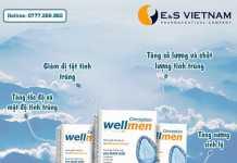 sản phẩm wellmen bổ tinh trùng