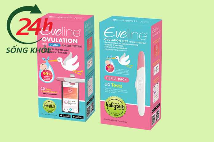 Que thử rụng trứng điện tử Eveline Care