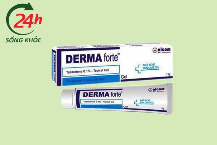 Kem trị mụn Derma Forte có tốt không?