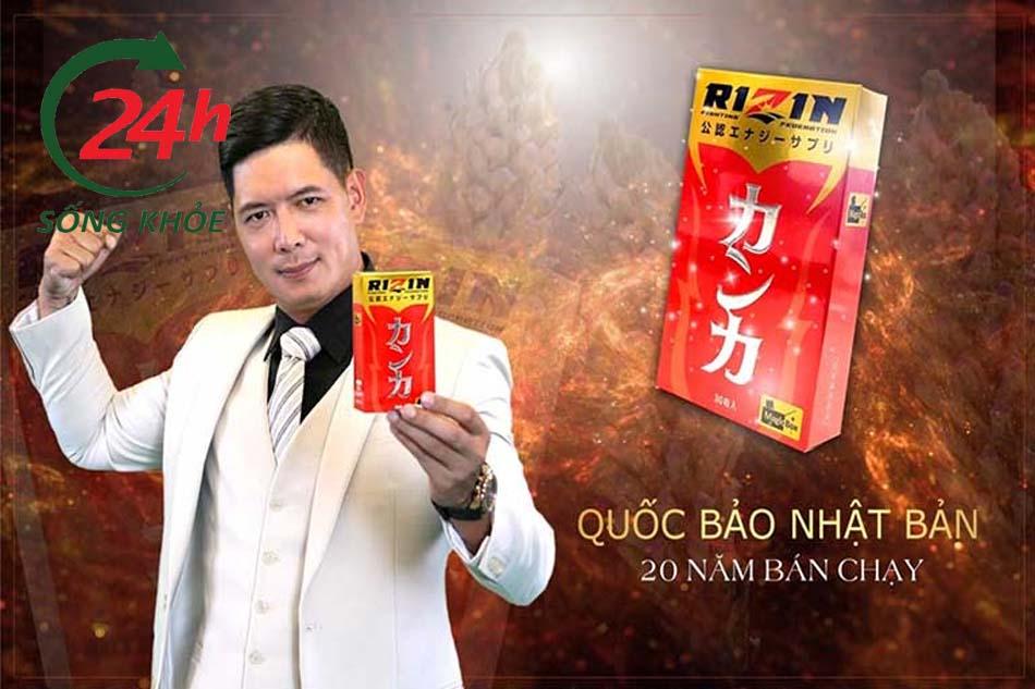 Công dụng viên uống Rizin Nhật Bản