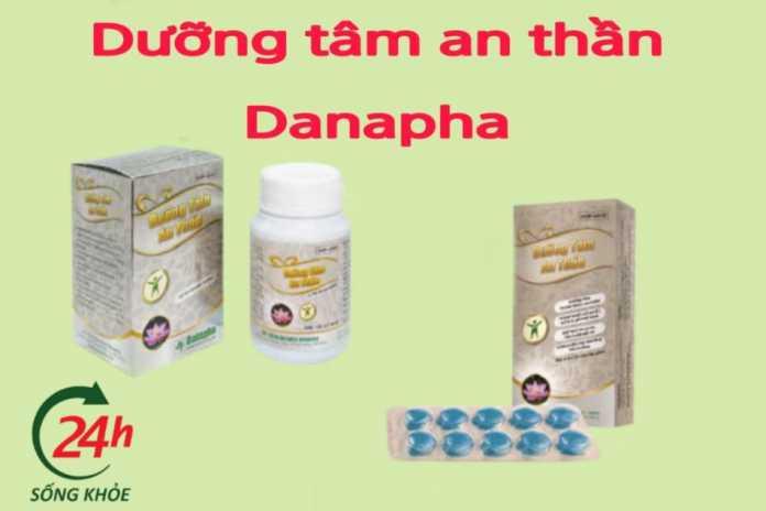 dưỡng tâm an thần danapha