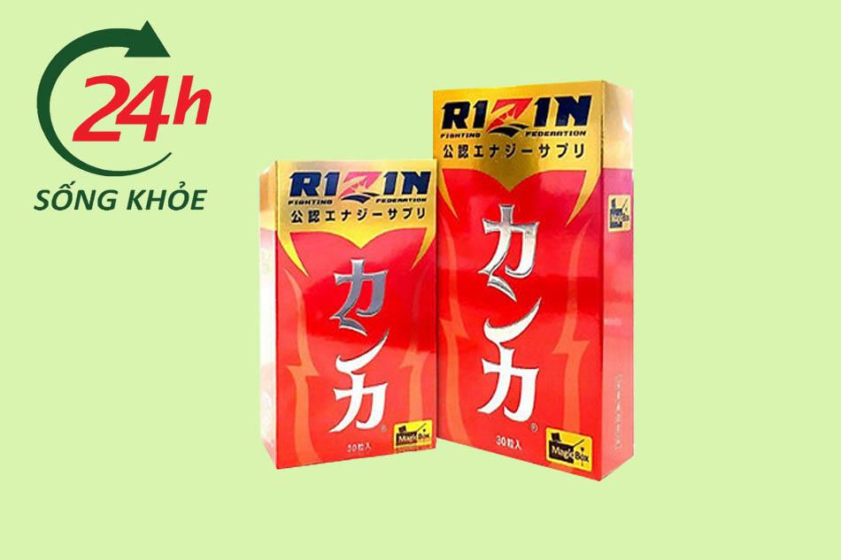 Viên uống Rizin là gì?